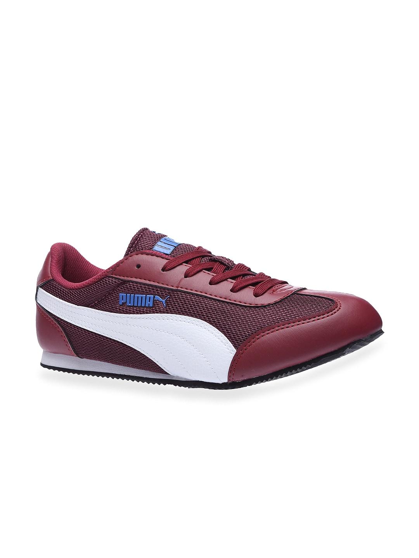 cd8284c33ff Puma Burgundy Casual Shoes - Buy Puma Burgundy Casual Shoes online in India