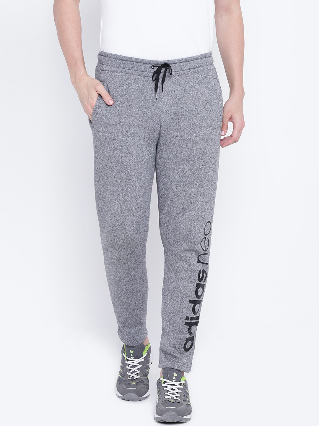 a43550efb2ee4 Adidas White Track Pants Pants - Buy Adidas White Track Pants Pants online  in India