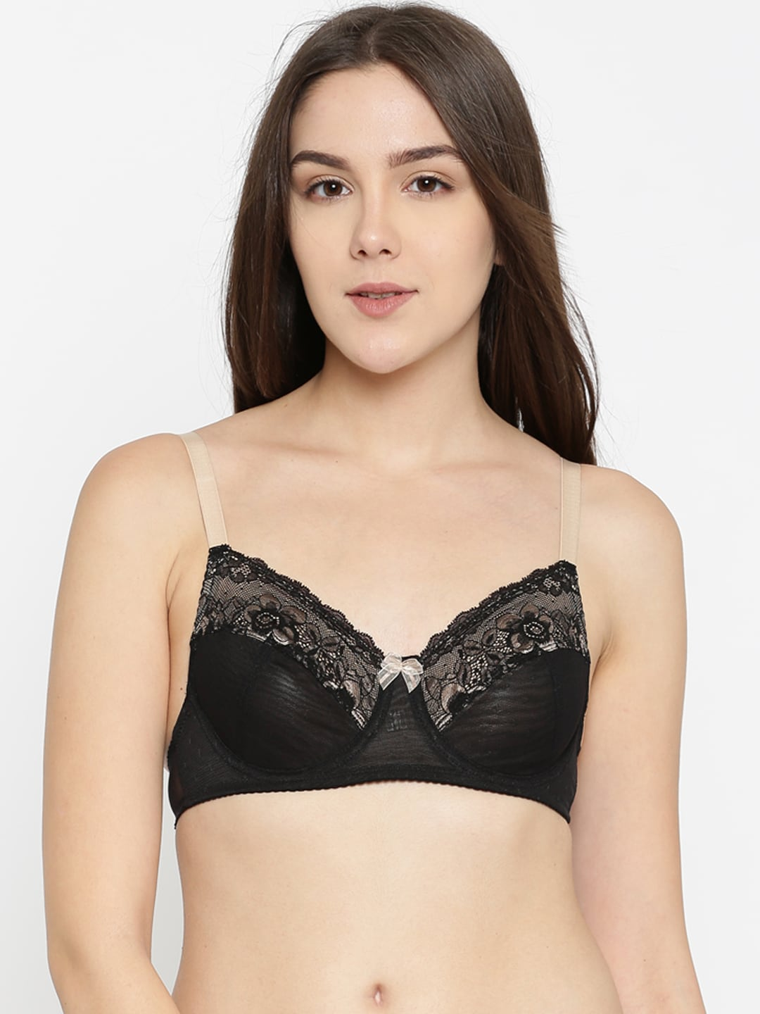 85de724e951 Enamor Black Bra - Buy Enamor Black Bra online in India