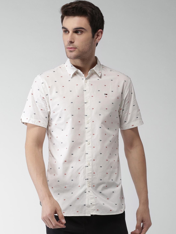 1f5b3487934794 Tommy Hilfiger Short Sleeve Shirts - Buy Tommy Hilfiger Short Sleeve Shirts  online in India
