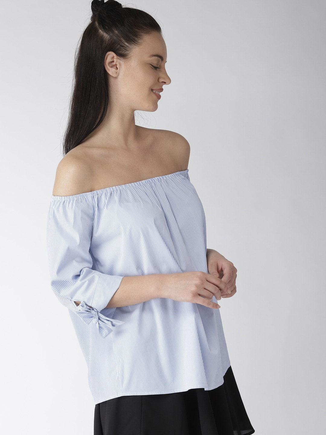 9698f556f6cb Off Shoulder Tops - Buy Off Shoulder Tops Online in India