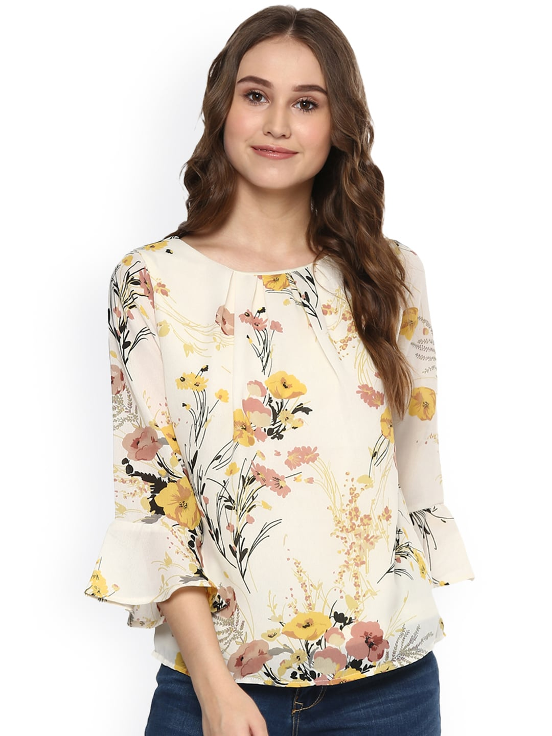 3c210431827e57 Floral Print Tops - Buy Floral Print Tops online in India