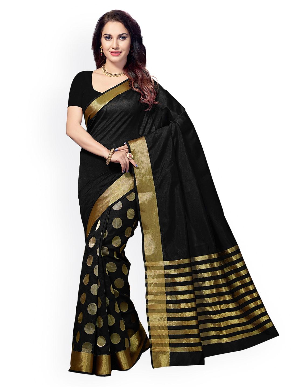 e88c7f80bc8f7 Black Saree - Black Designer Sarees Online   Best Price