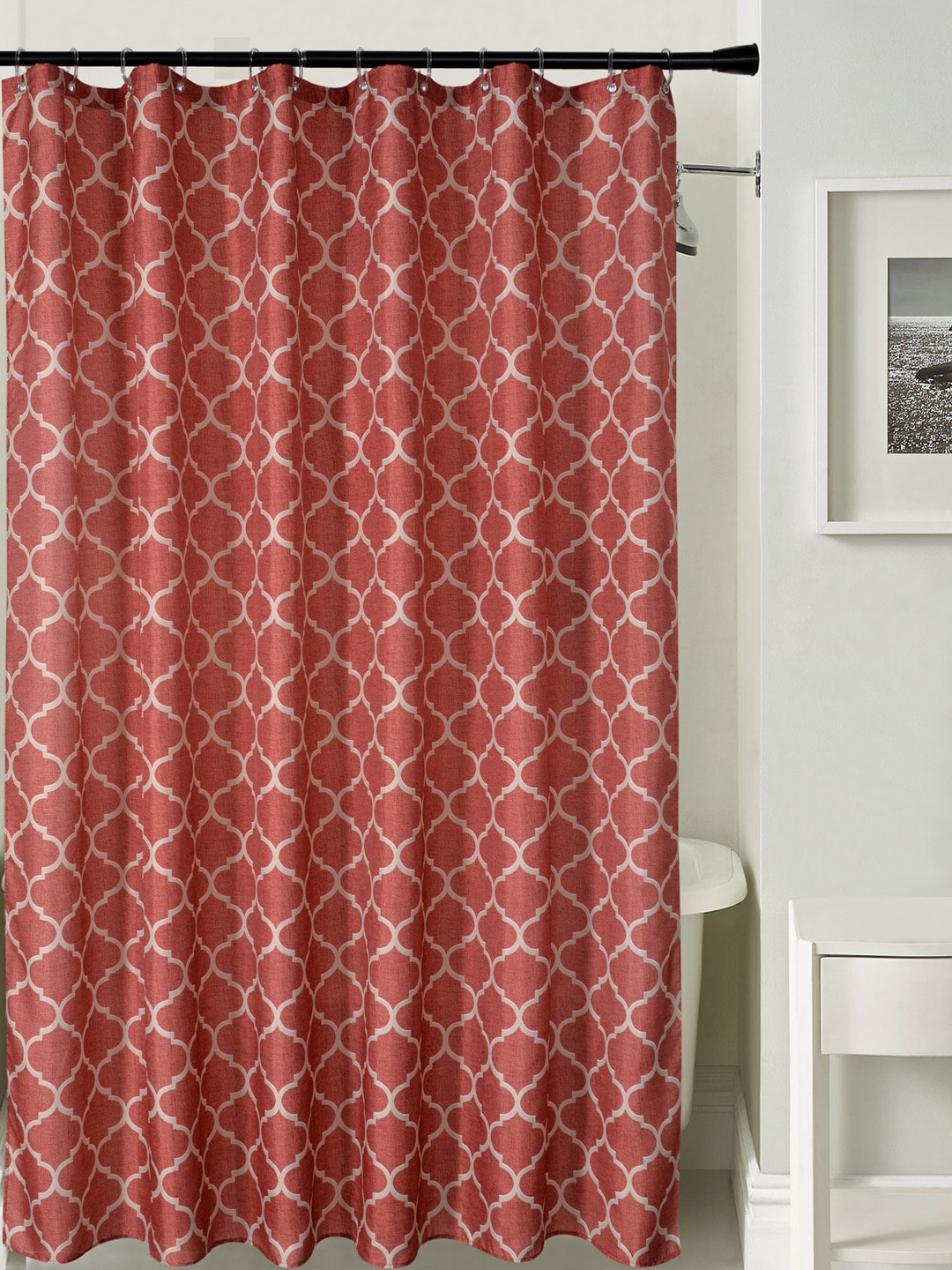Rust Shower Curtain Curtain Ideas