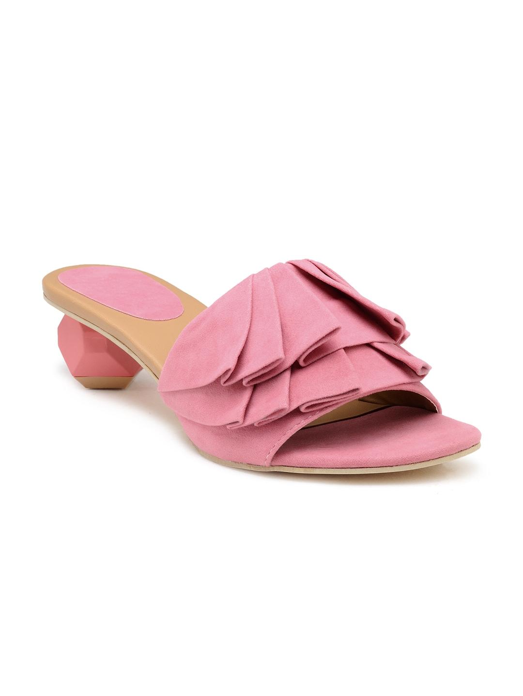 ee8a76c3c12 Chalk Studio Women Pink Block Heels