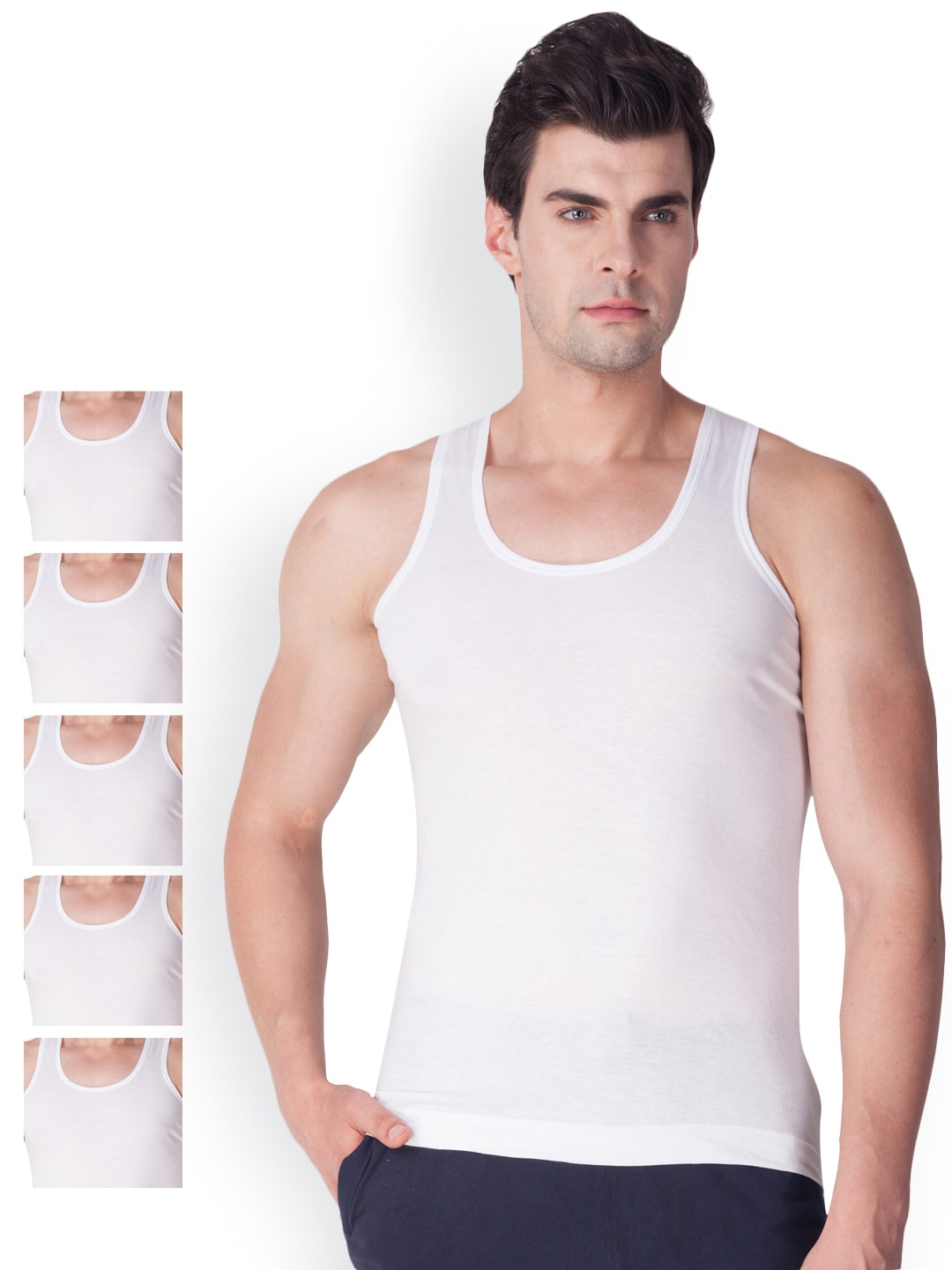 cd962606d292b Vests For Men - Buy Mens Innerwear Vests Online - Myntra
