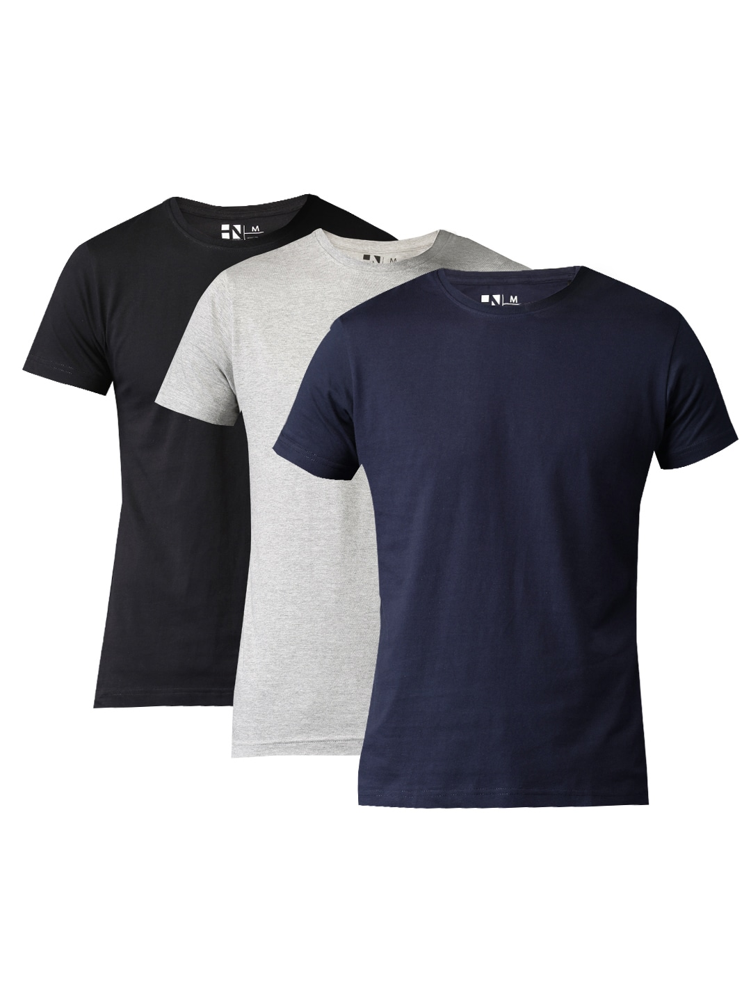 974d0a1c4c9 3 Pack Neck Tshirts - Buy 3 Pack Neck Tshirts online in India
