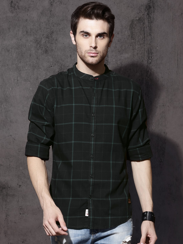 cf43fbfa04 Men Check Shirts - Buy Men Check Shirts online in India