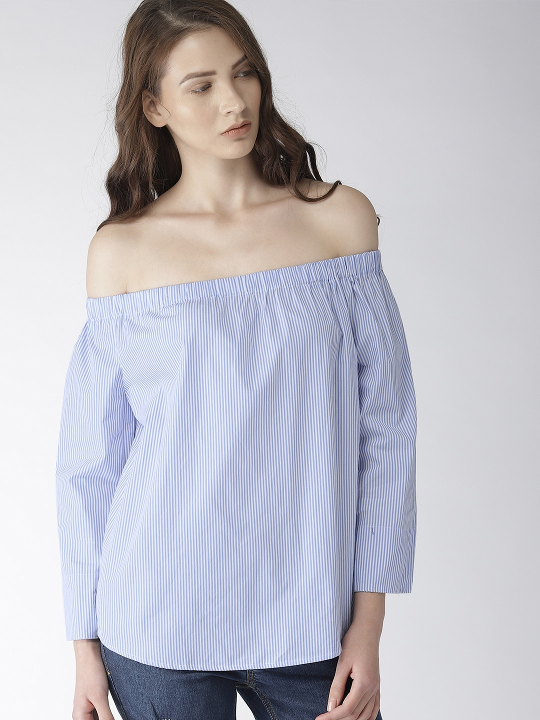 31fb3934cc6bbb Forever 21 Three Quarter Sleeves Topwear - Buy Forever 21 Three Quarter  Sleeves Topwear online in India