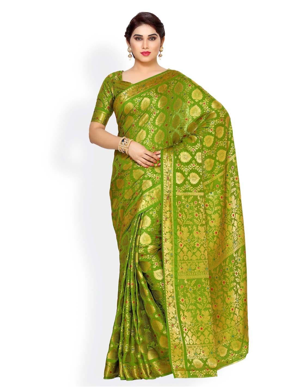 5b2d0efed4d Kanjeevaram Saree - Shop Kanjeevaram Silk Sarees Online