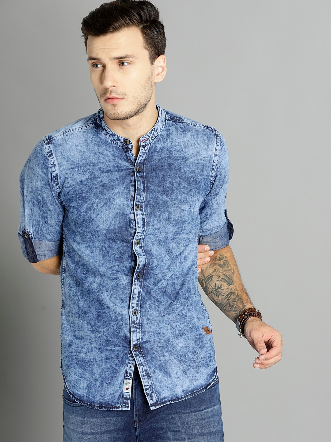 473cbfe4728 Teal Blue Shirts - Buy Teal Blue Shirts online in India