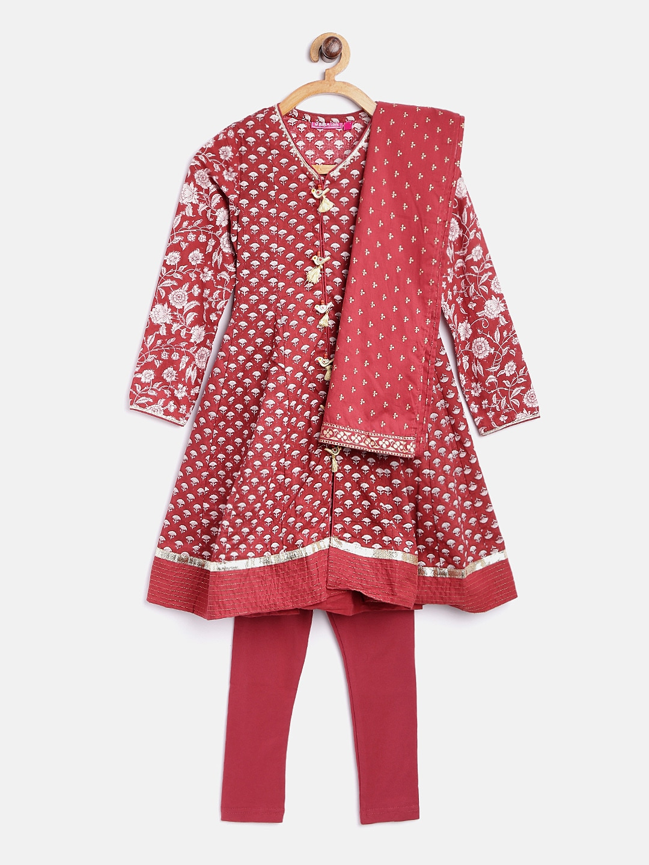8d84a16f36c Girls Apparel Set Patiala Kurtas - Buy Girls Apparel Set Patiala Kurtas  online in India