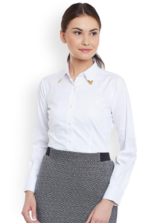 eaa3d3520e20 Women Formal Shirts - Buy Women Formal Shirts online in India