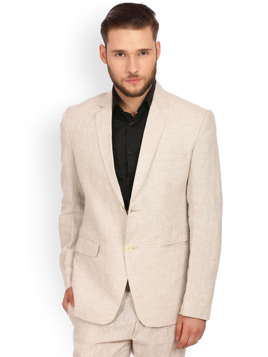 5e7adf42b95c Men Linen Blazers - Buy Men Linen Blazers online in India
