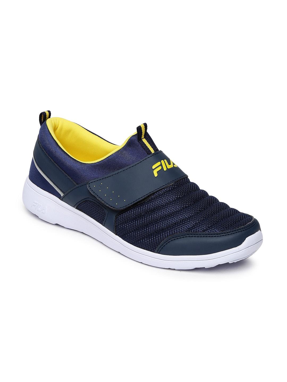 22e7eff12e75 Fila Men Navy Blue Blue Casual Shoes - Buy Fila Men Navy Blue Blue Casual Shoes  online in India