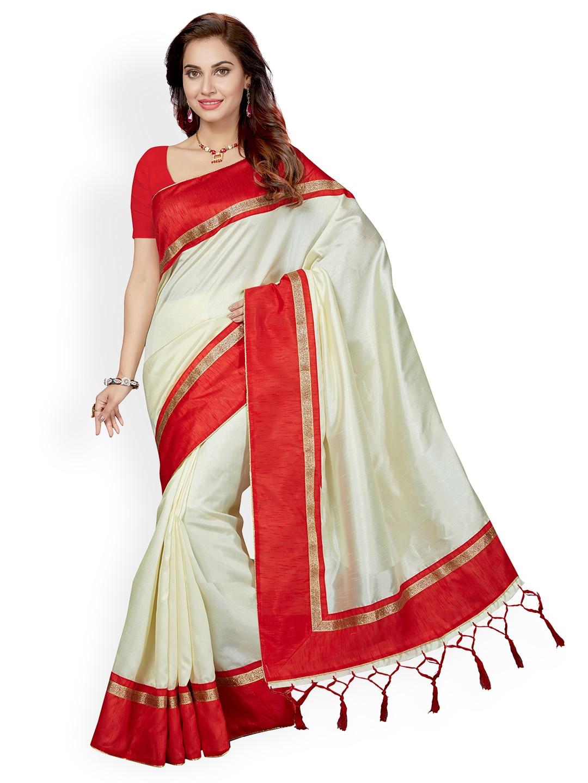 04e4584b4b735 White Saree - Buy Designer White Sarees Online