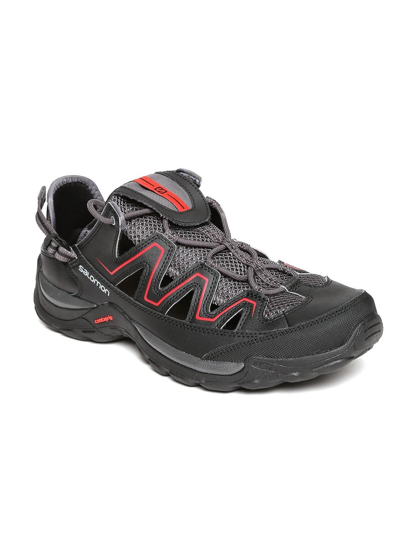 Salomon Men Charcoal Grey Cuzama Quite Sneakers