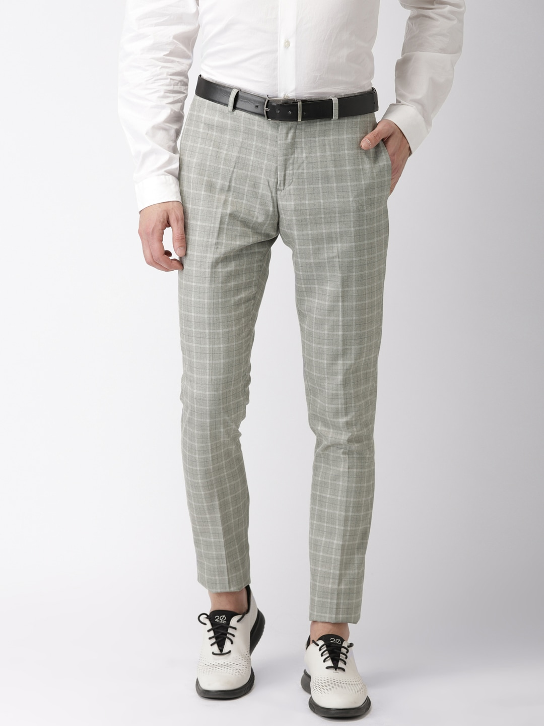 a87c5ff0a75 Checked Men Trousers - Buy Checked Men Trousers online in India