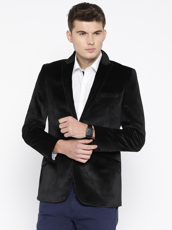 Raymond Black Blazers Buy Raymond Black Blazers Online In India