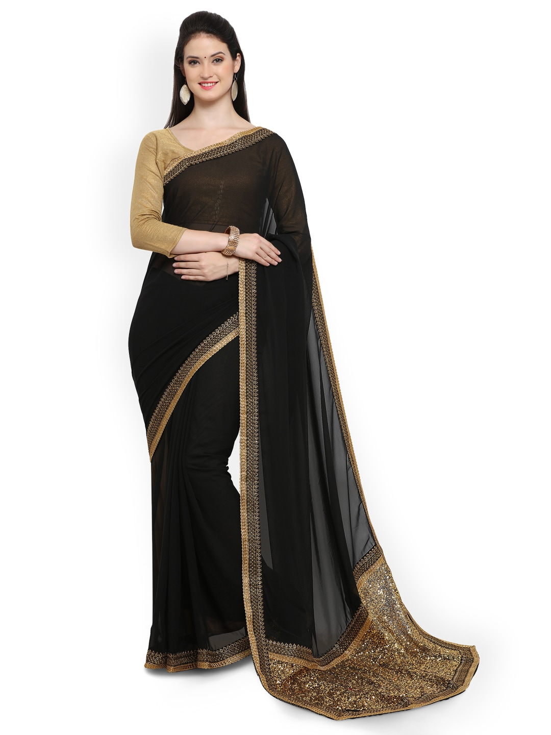 123742650997c Georgette Sarees - Buy Georgette Saree Online in India
