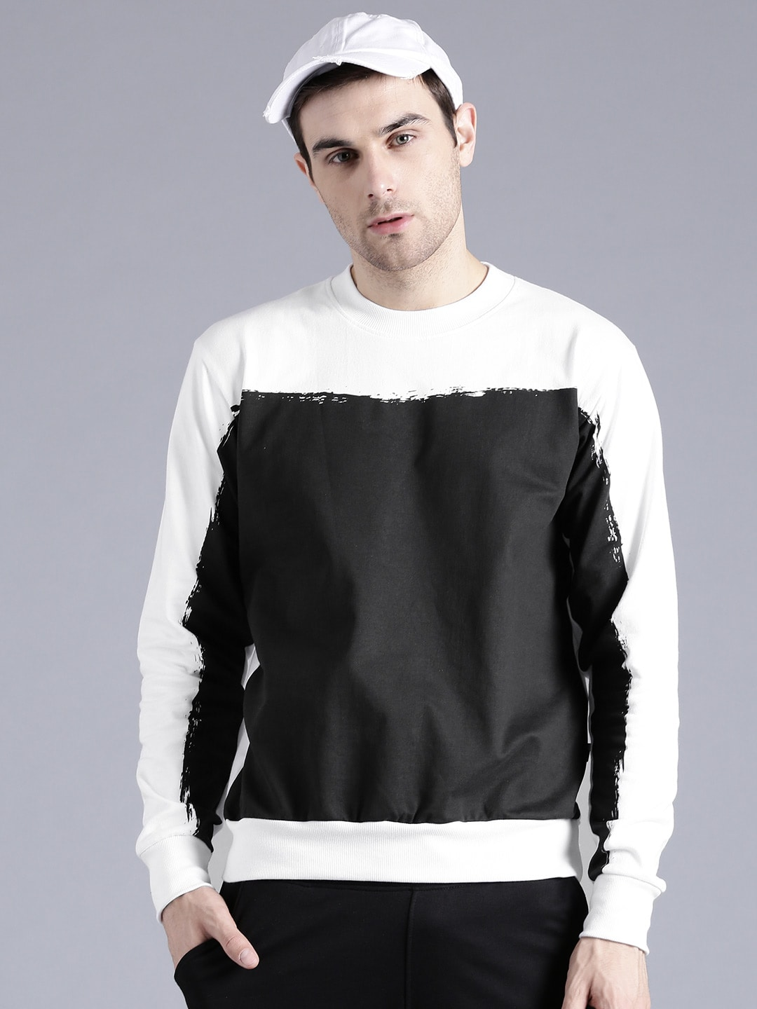 Are not mens sweatshirts with thumb holes something is