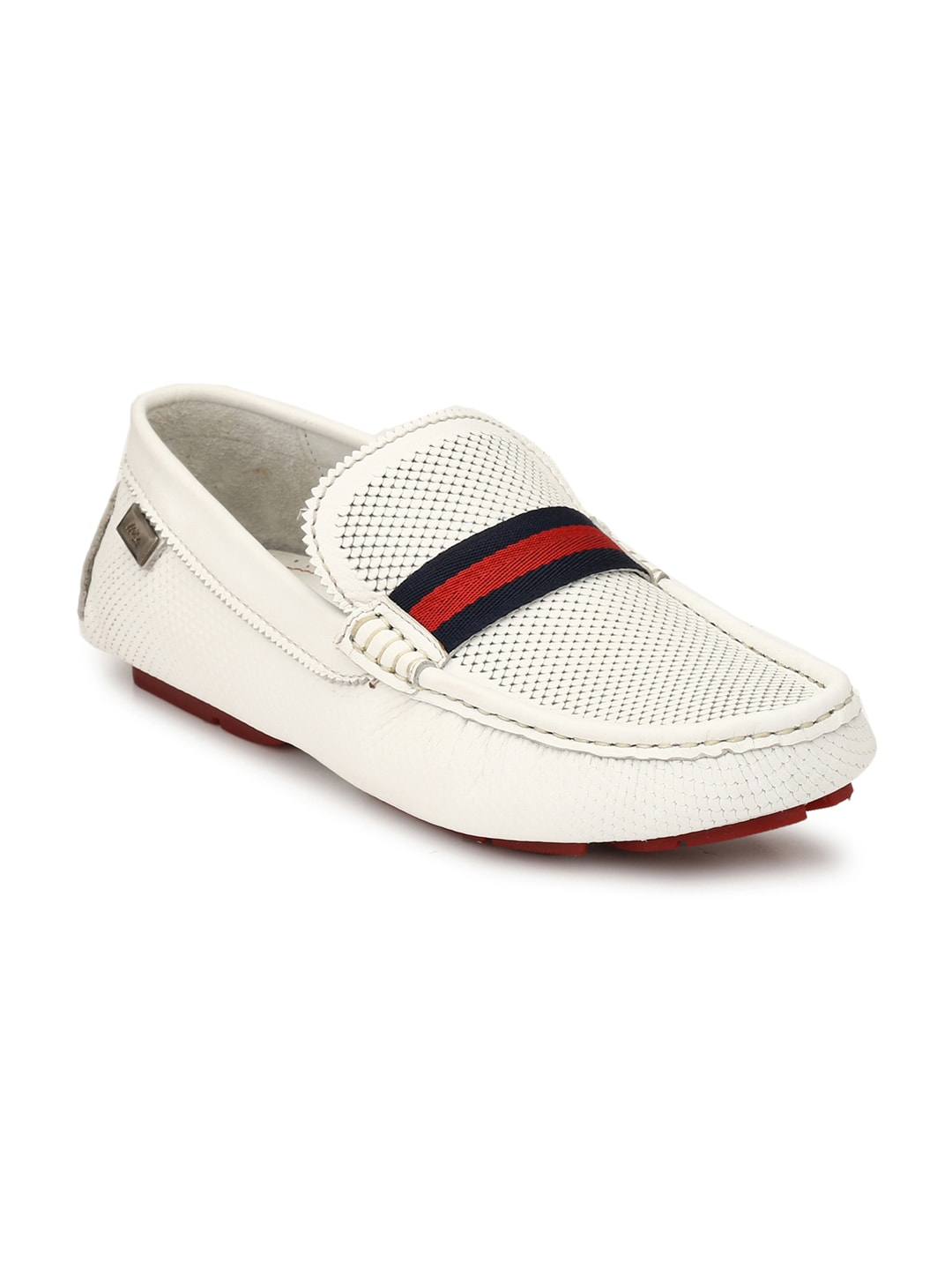 7337af10385 White Loafers For Men - Buy White Loafers For Men online in India