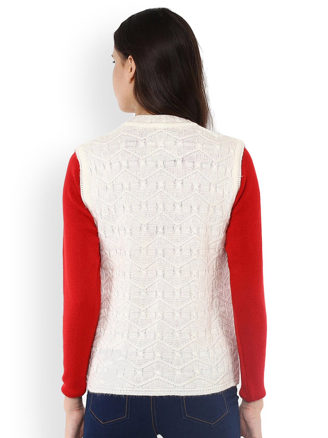 Off White Sweater Vest Her Sweater