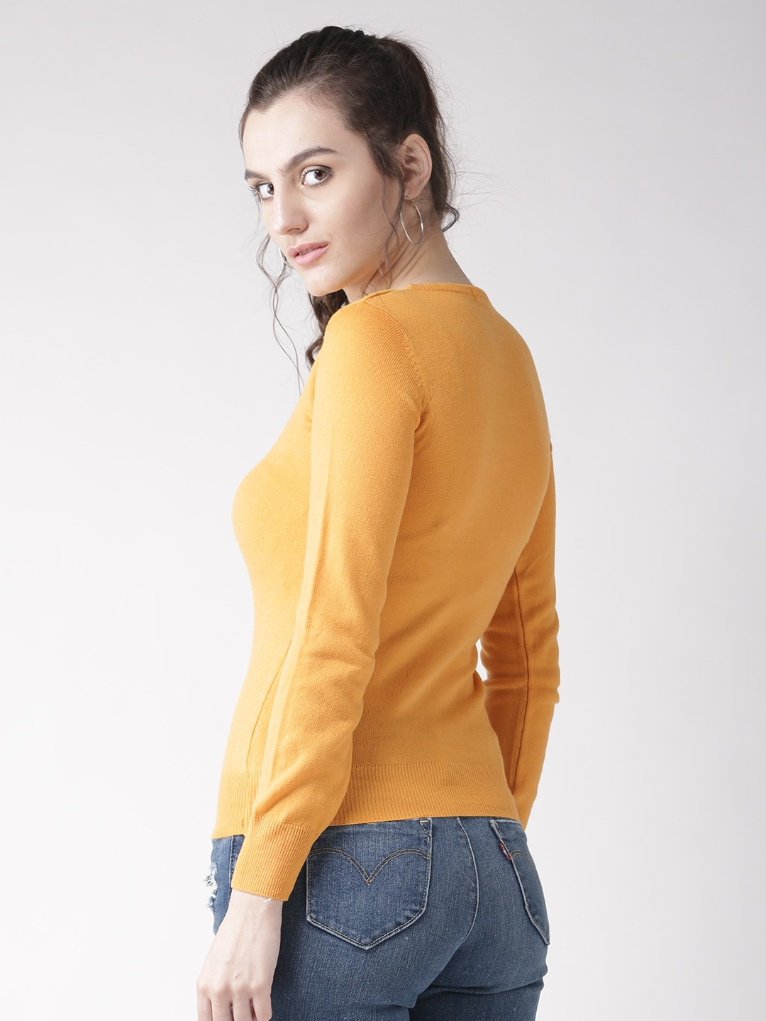 Yellow Sweaters - Buy Yellow Sweaters online in India
