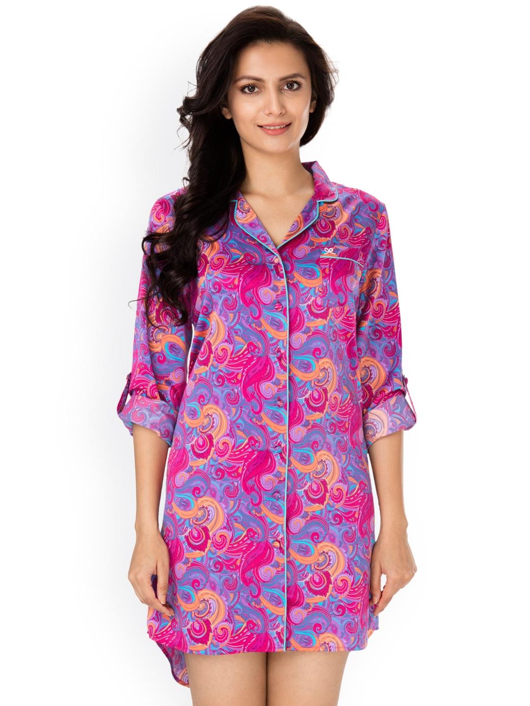 56f165cfad Sleep Shirts - Buy Sleep Shirts online in India
