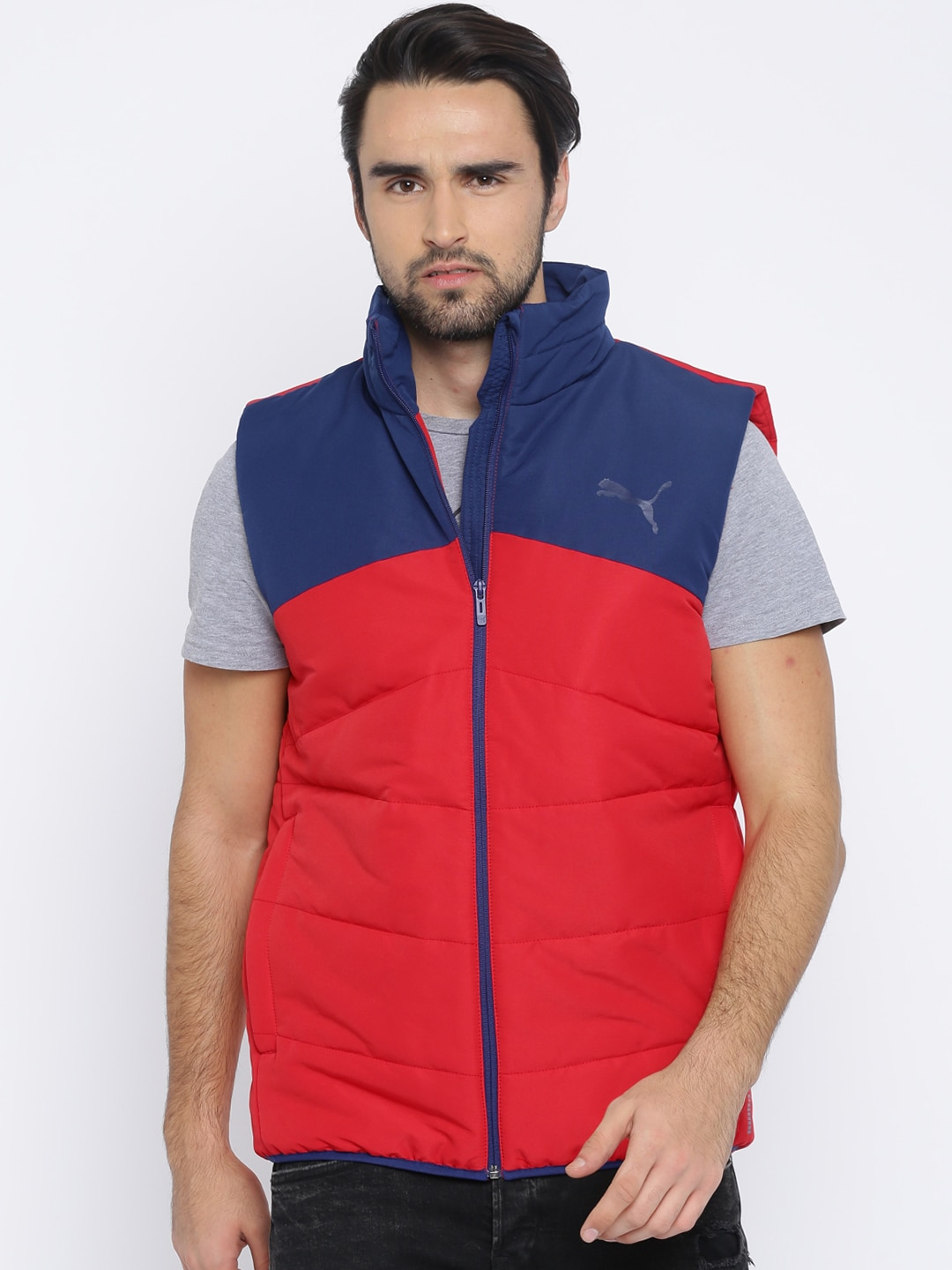 f04cc0ab59b2 Sleeveless Men Puma Jackets - Buy Sleeveless Men Puma Jackets online in  India