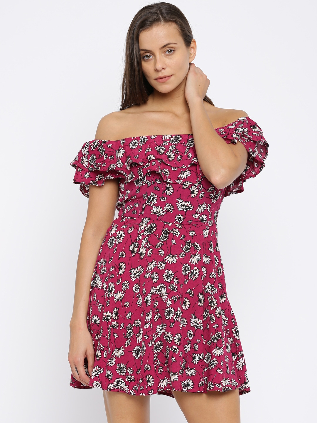 Strapless Dress Forever 21 India
