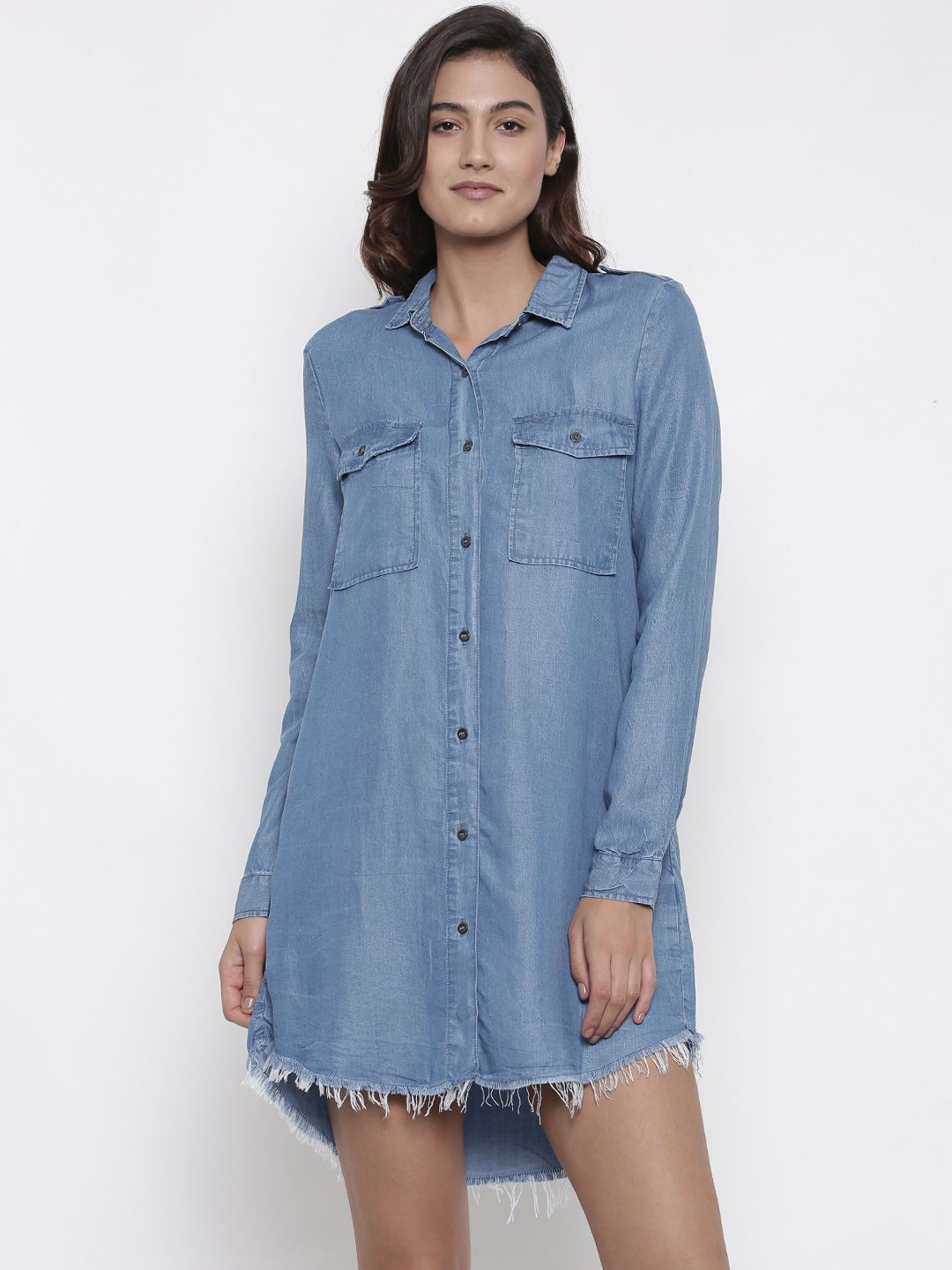 0ed12f83505 Denim Dresses - Buy Denim Dresses Online in India