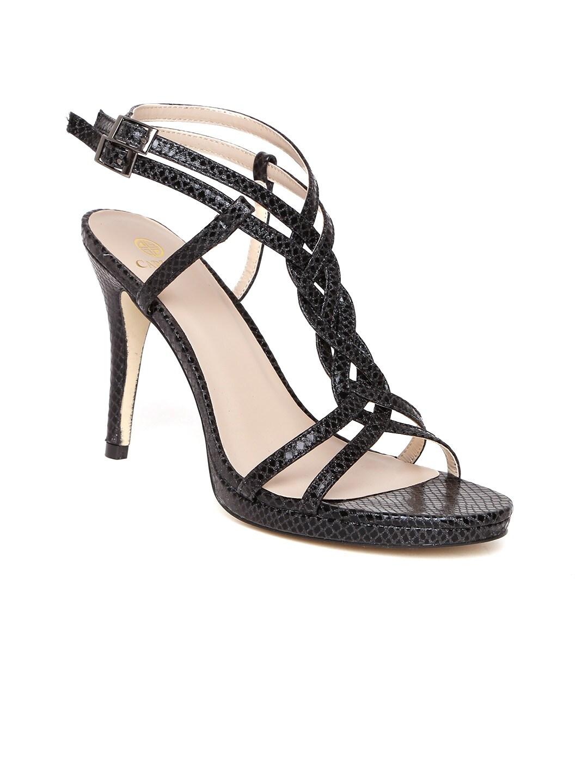 Carlton Stiletto Printed Black Heels Shimmer Jlzgsmpuqv London Women PZOkiTuX