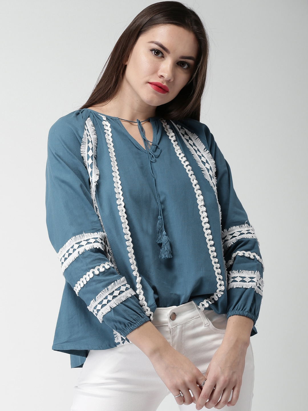 3db8380136 Lace-Up Tops - Buy Lace Up Top for Women   Girls Online