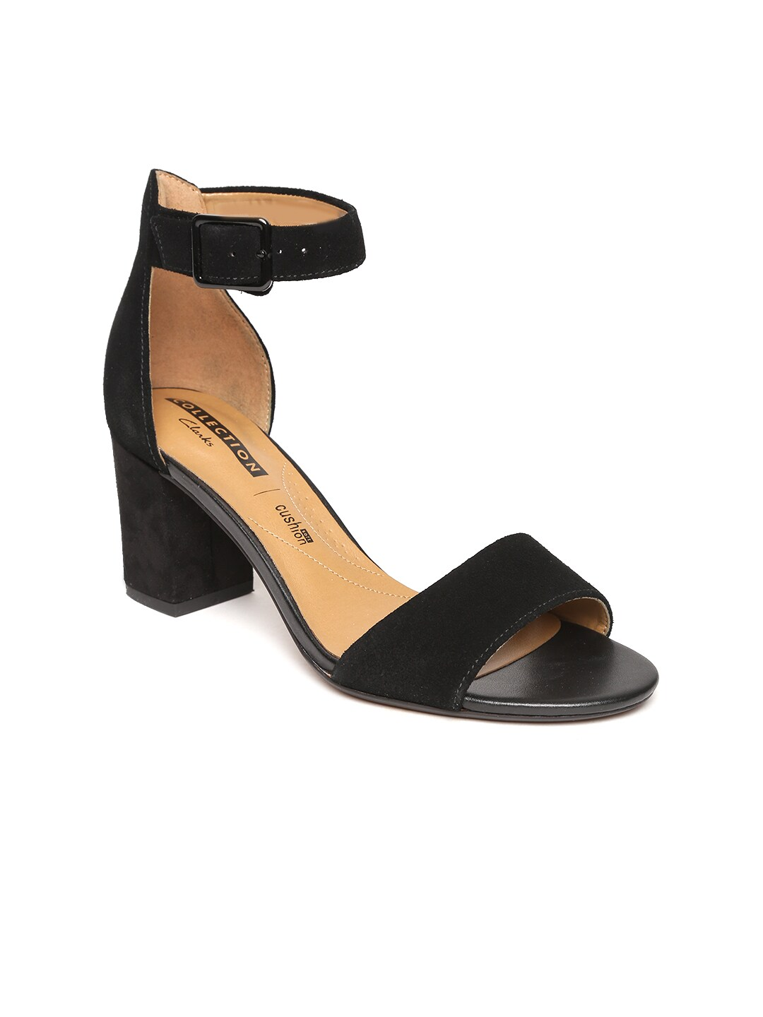 b48b5fd9bf5f5 Clarks Synthetic Heels - Buy Clarks Synthetic Heels online in India