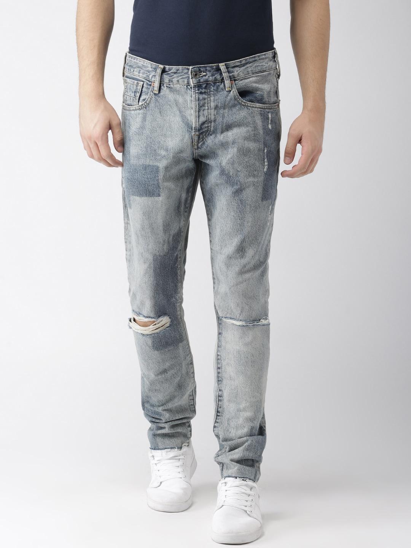 e13bea82c2e7a Men Stretch Jeans - Buy Men Stretch Jeans online in India