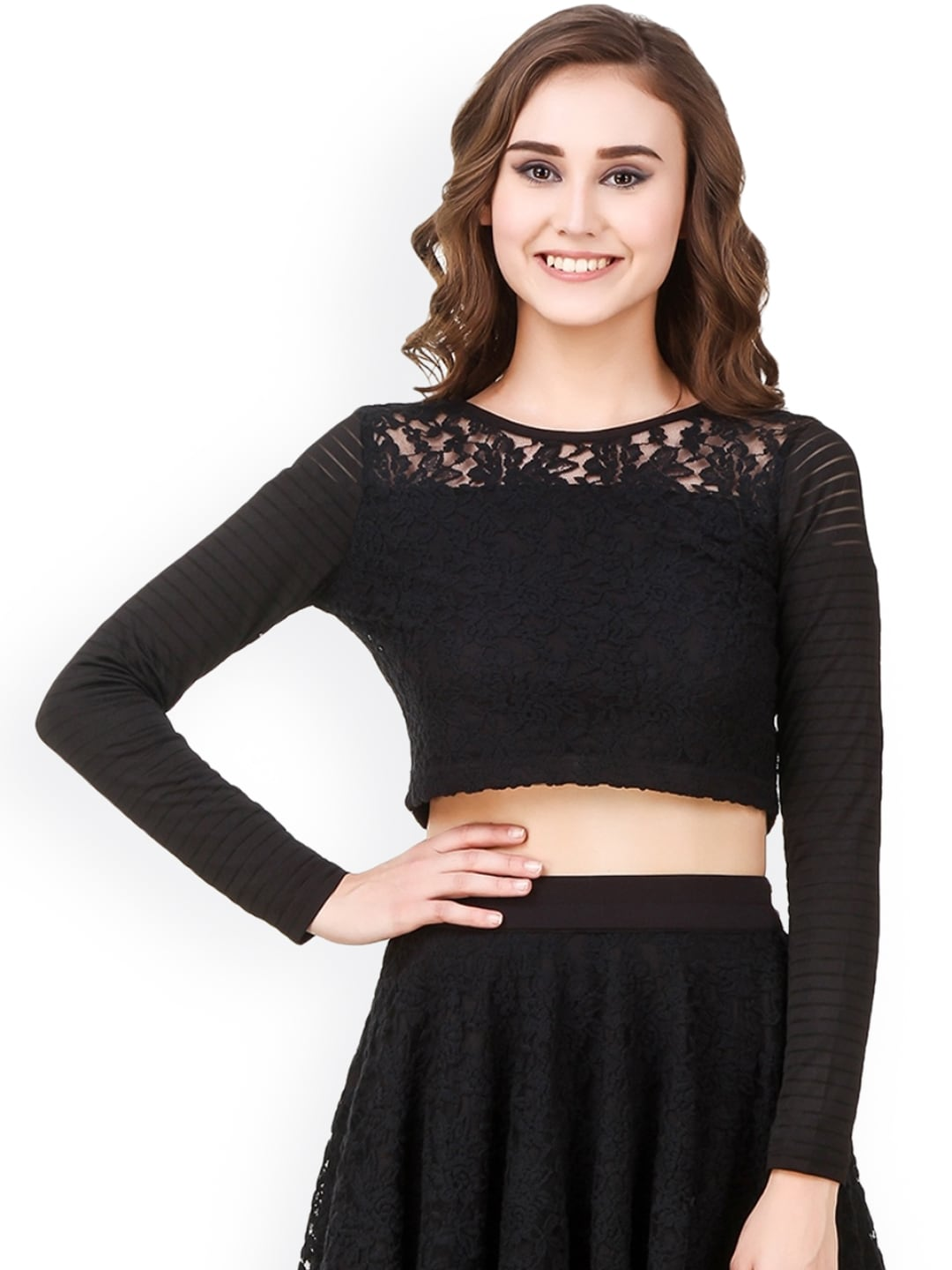 934fb02adc751 Crop Tops - Buy Crop Tops Online - Myntra
