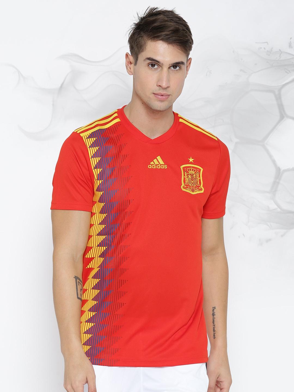 Adidas Spain Jersey - Buy Adidas Spain Jersey online in India 40c9f795f
