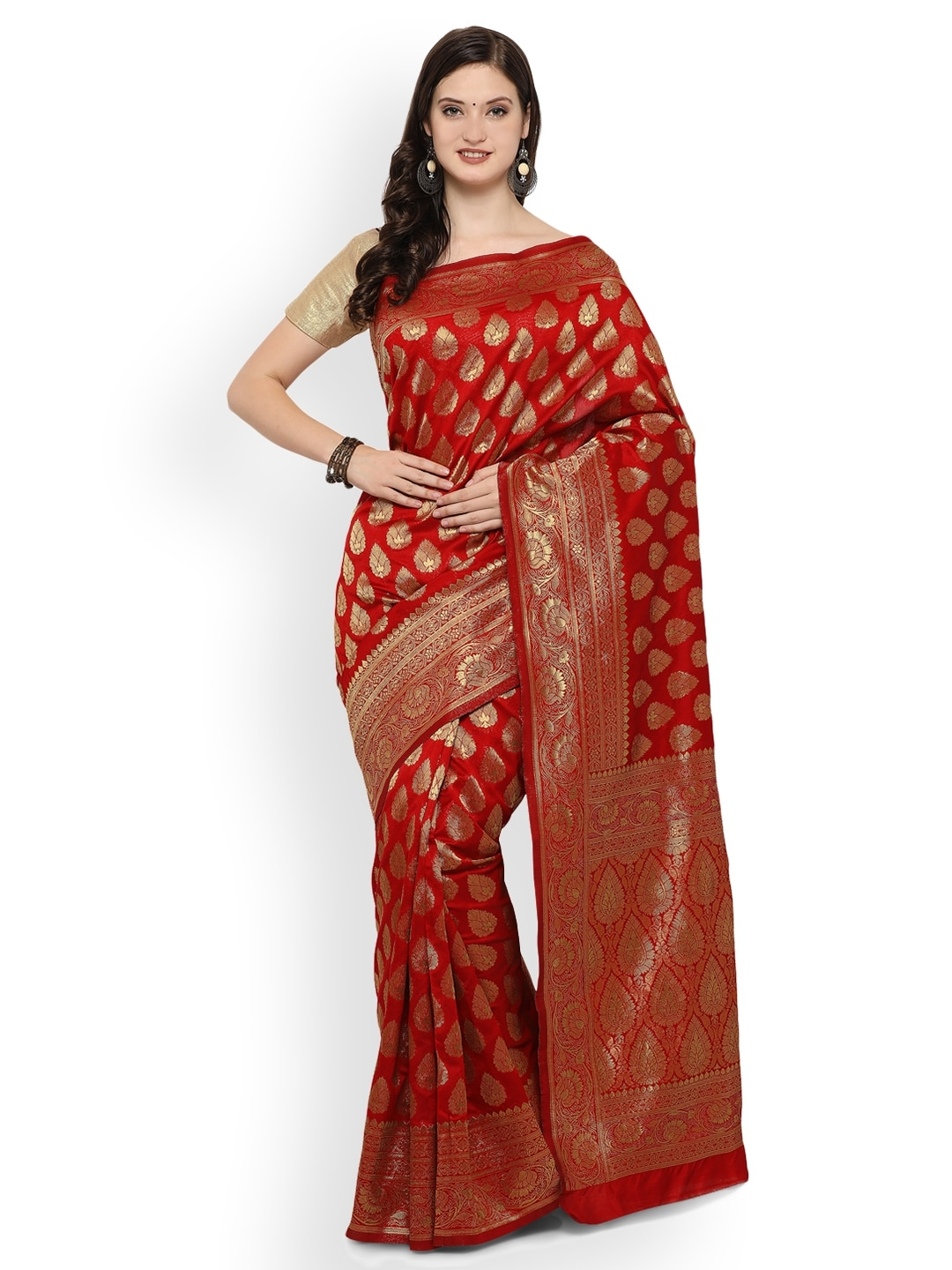 75733889294c0 Red Saree - Buy Red Color Fashion Sarees Online