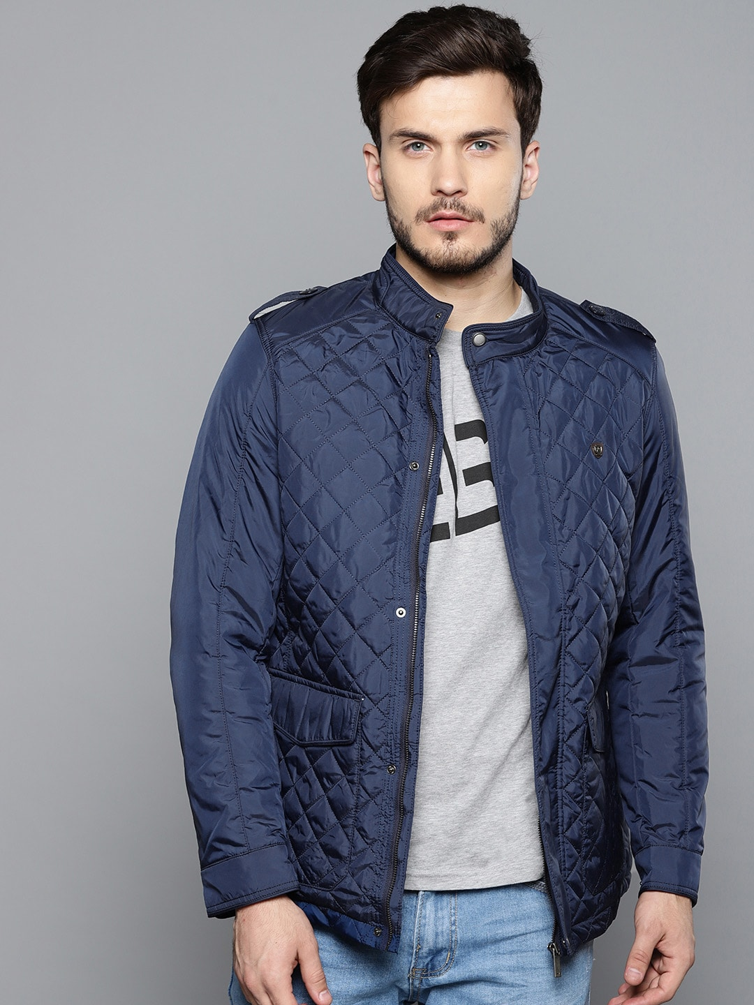 02e42b1cf63eb Men Quilted Jackets - Buy Men Quilted Jackets online in India