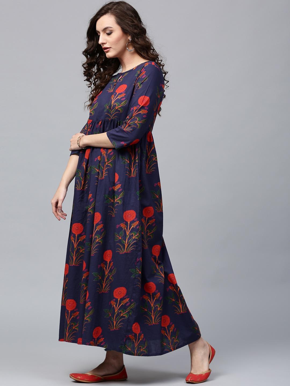 79e74b0f276402 Cotton Anarkali Kurtas - Buy Cotton Anarkali Kurtas online in India