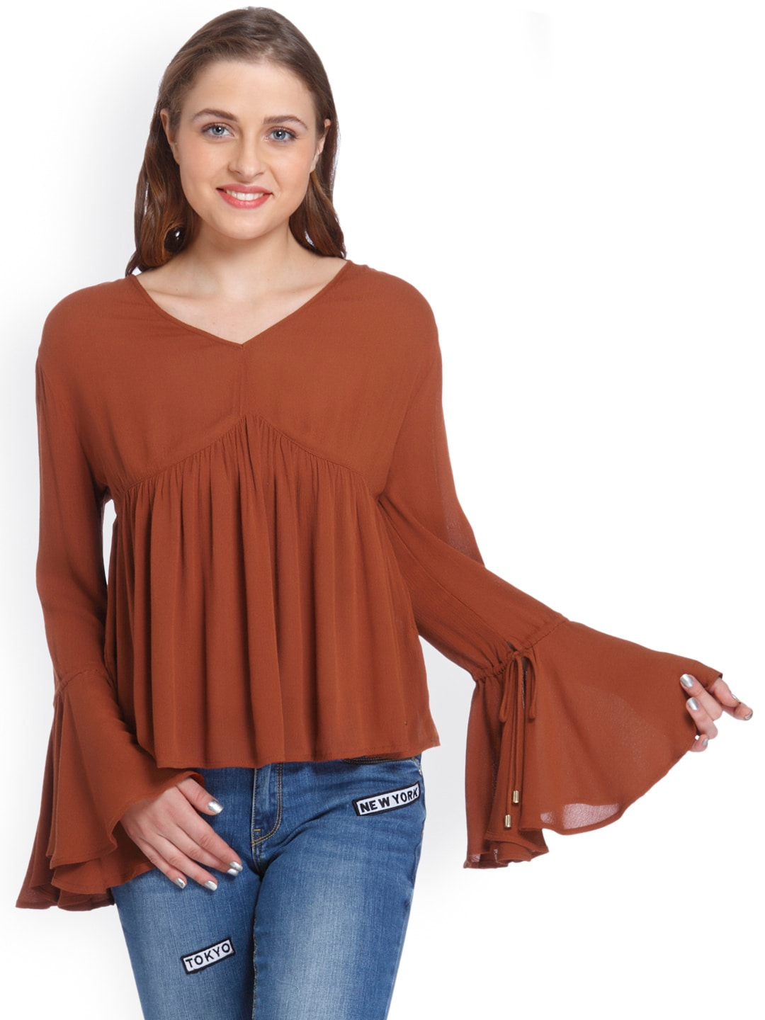 09c75805617 Gathered Only S Tops - Buy Gathered Only S Tops online in India