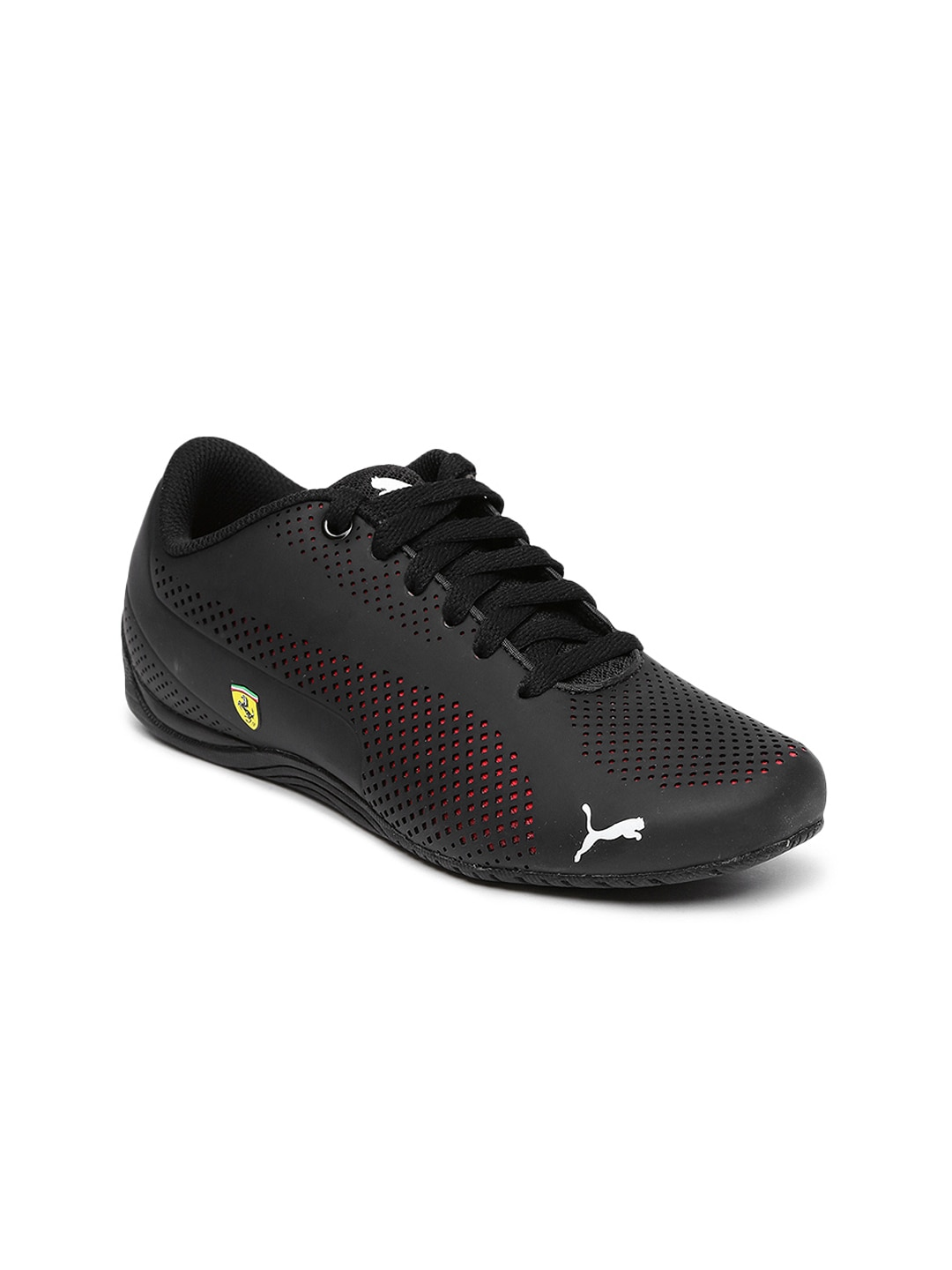 16ea9048b0c Puma Ferrari Black Tops Casual Shoes - Buy Puma Ferrari Black Tops Casual  Shoes online in India