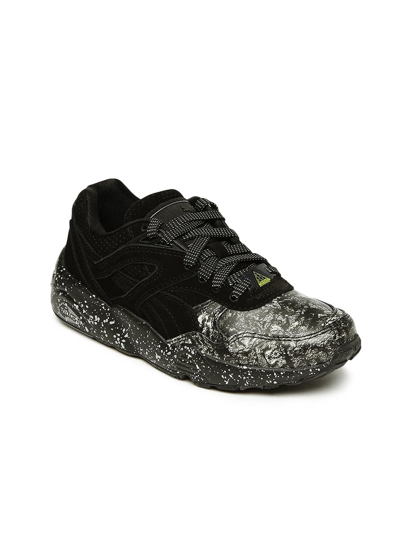 9f77f4e2c10f4 Puma Men Black R698 ROXX Sneakers