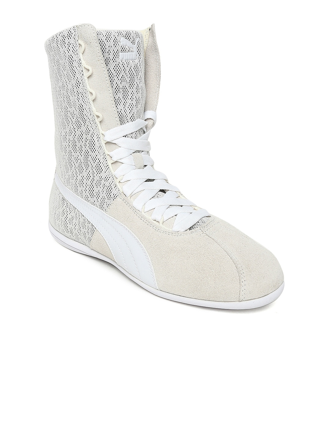 d8e2179f1c41 White High Tops Shoes Casual - Buy White High Tops Shoes Casual online in  India