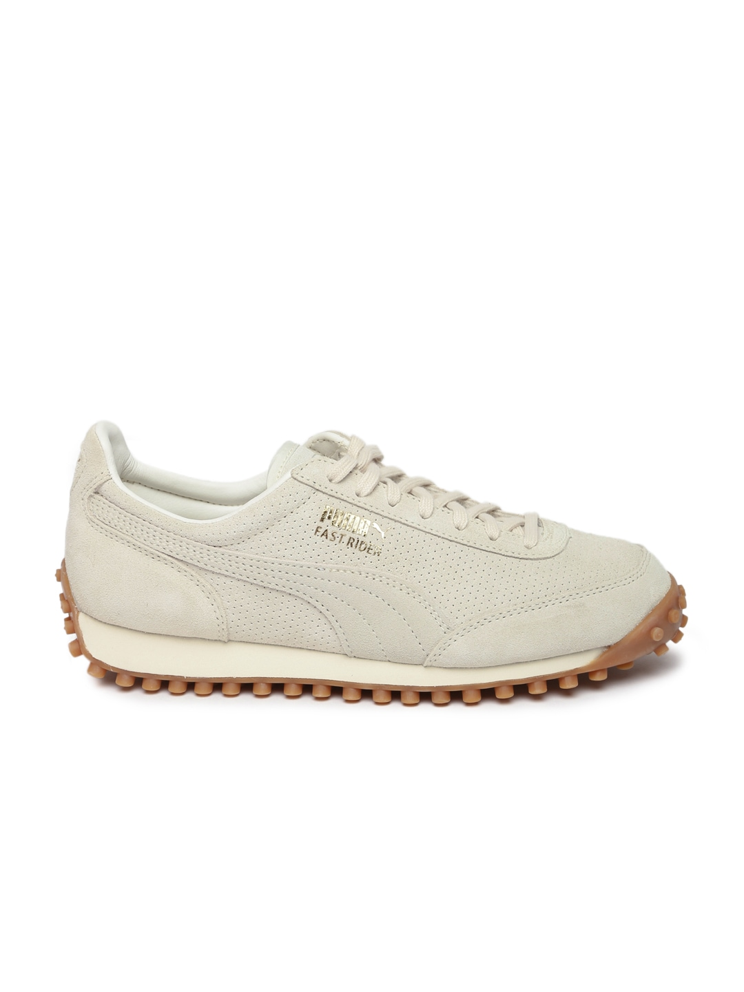 puma unisex navy & beige casual shoes