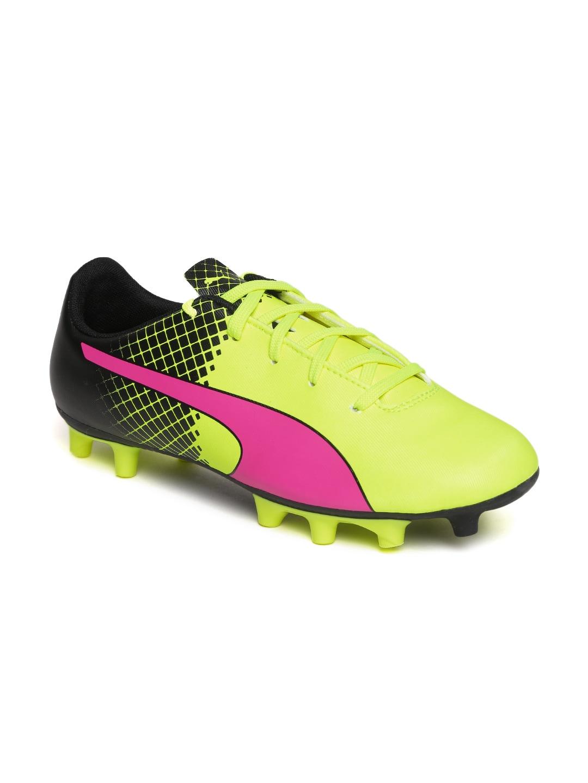 Fashion week Sports Puma shoes green for girls