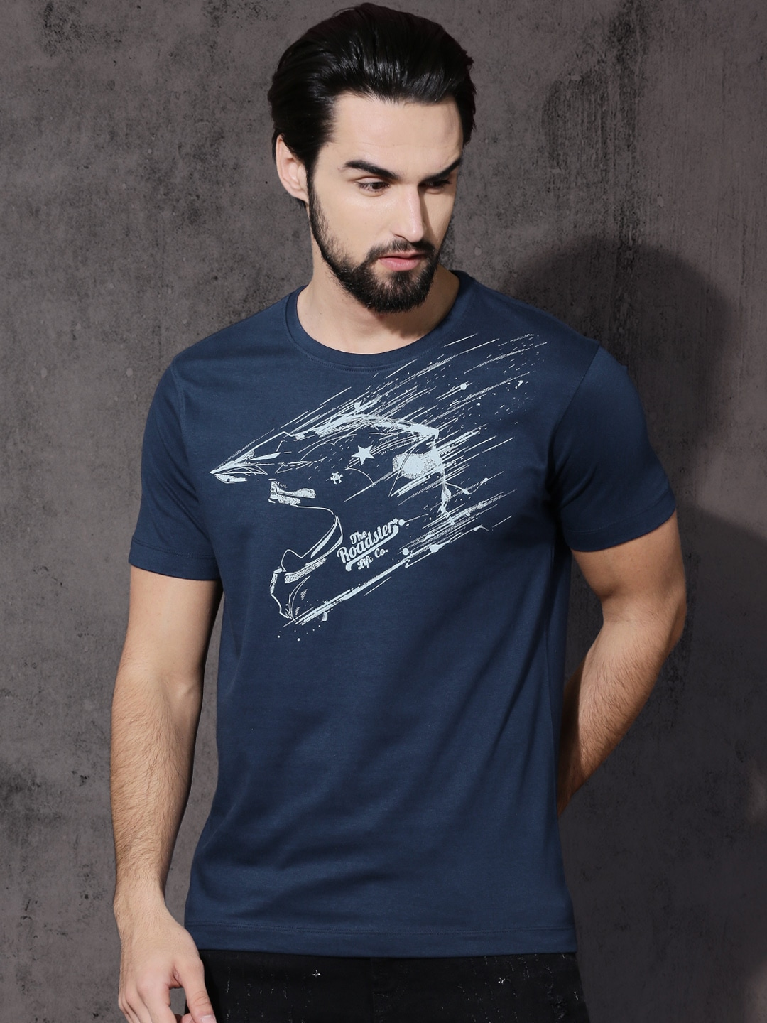 a1465bf2c9b6 Men T-Shirts - Buy T-shirts for Men Online in India