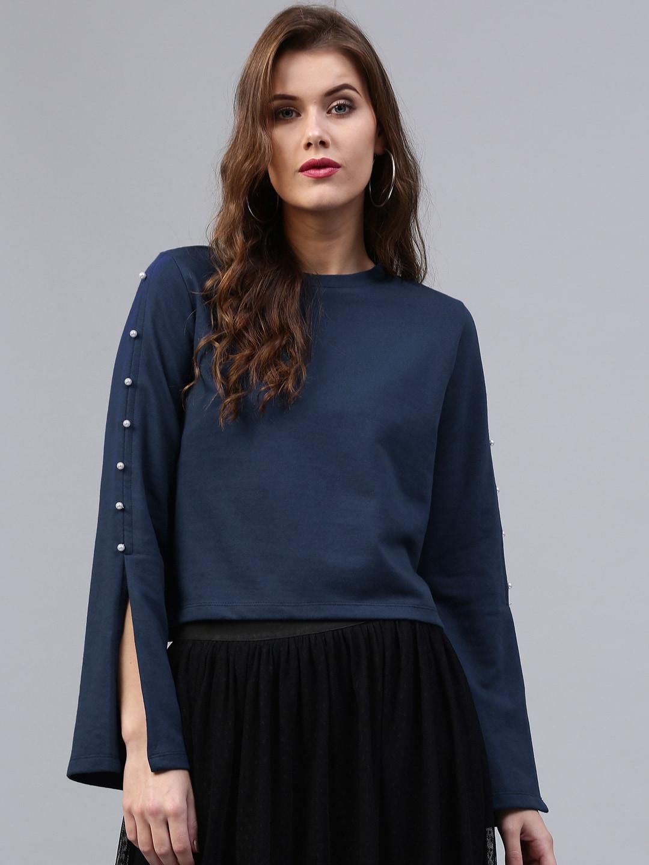 0d3379ac70241 Sassafras Long Sleeves Tops - Buy Sassafras Long Sleeves Tops online in  India