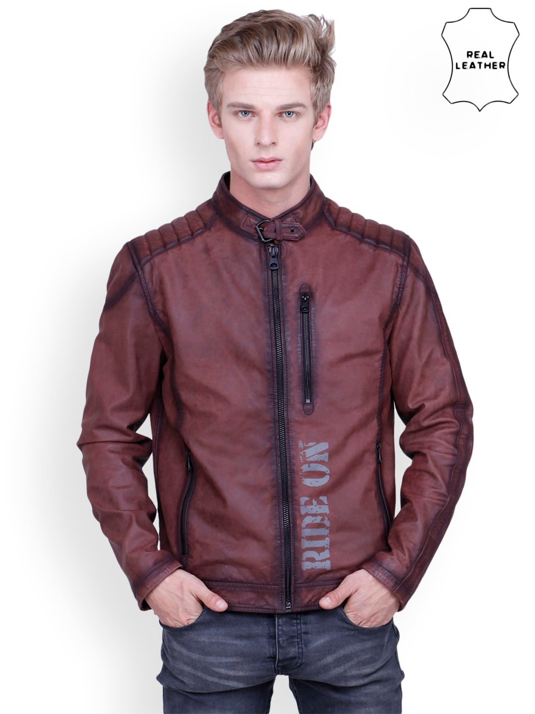 4dba205d332 Leather Jackets - Buy Leather Jacket Online in India